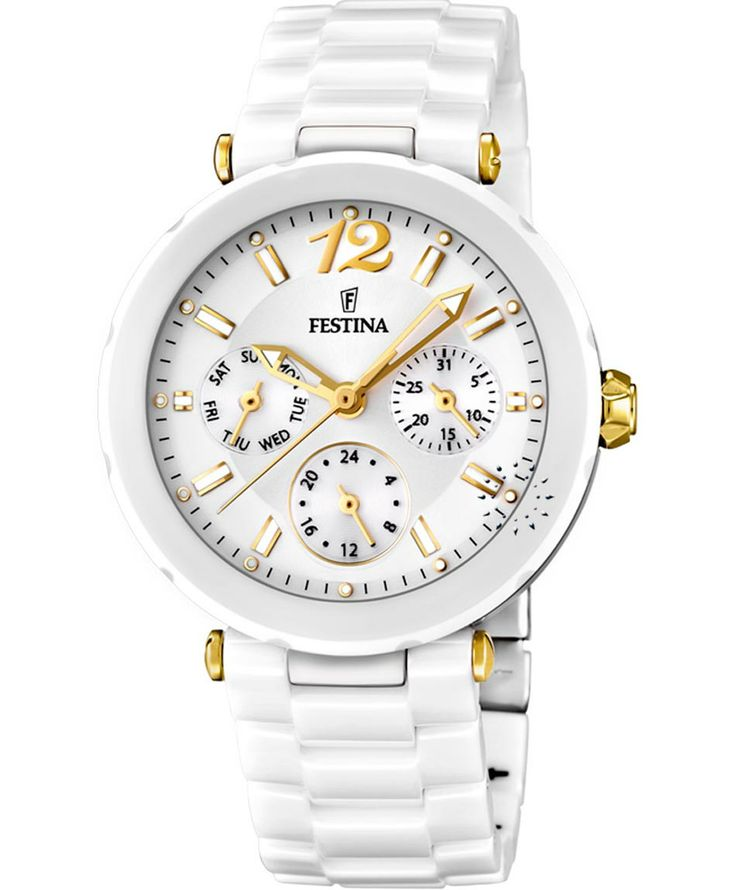 FESTINA Ladies Ceramic Bracelet Τιμή: 252€ http://www.oroloi.gr/product_info.php?products_id=36708