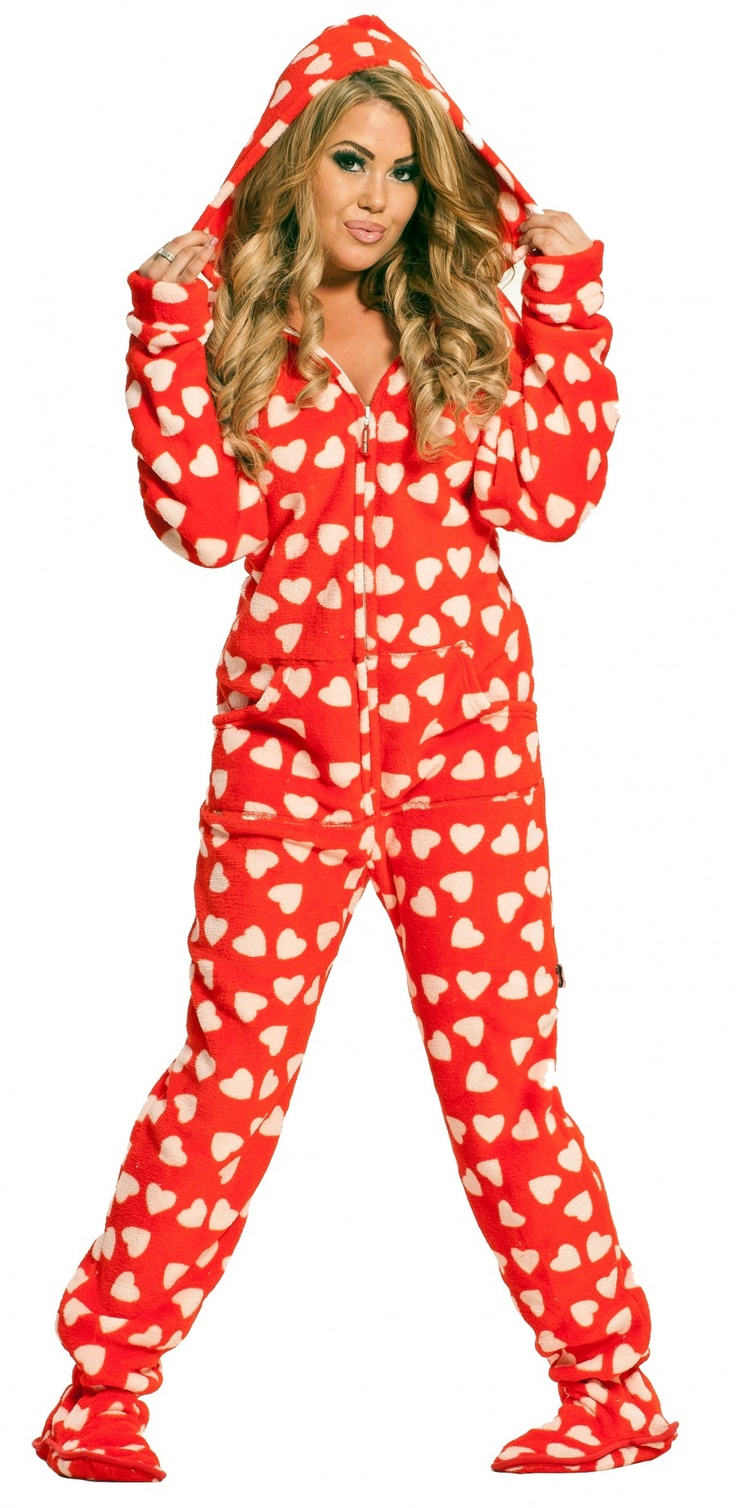 1000 Ideas About Womens Footed Pajamas On Pinterest