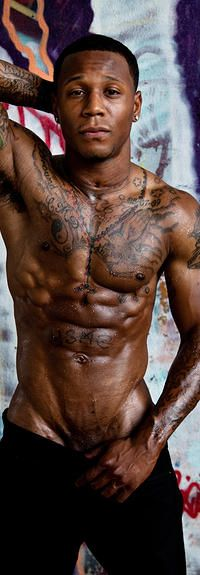 Nude balck male strippers — 15