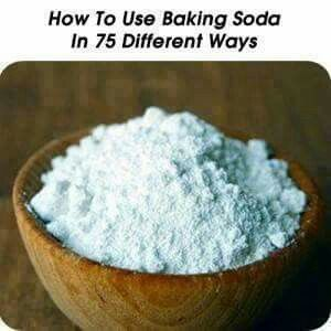 75 Different ways to use Baking Soda