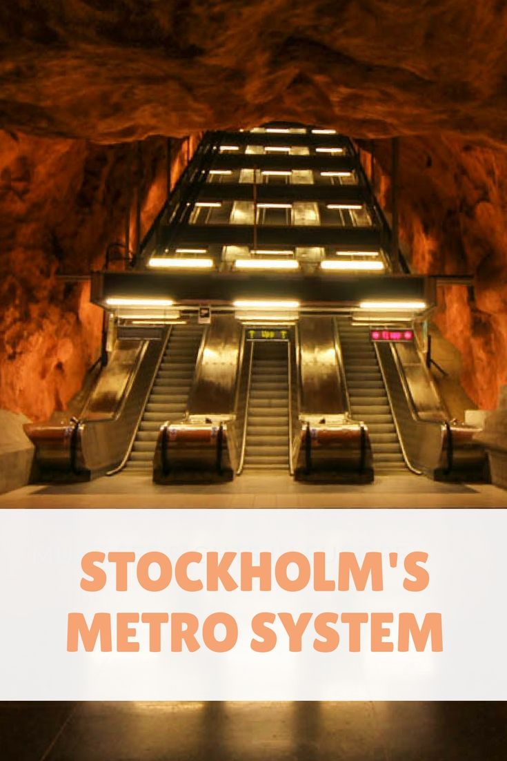 Discover with me Stockholm's metro system. In the underground of Sweden's capital, you will find a world of art that will take your breath away!
