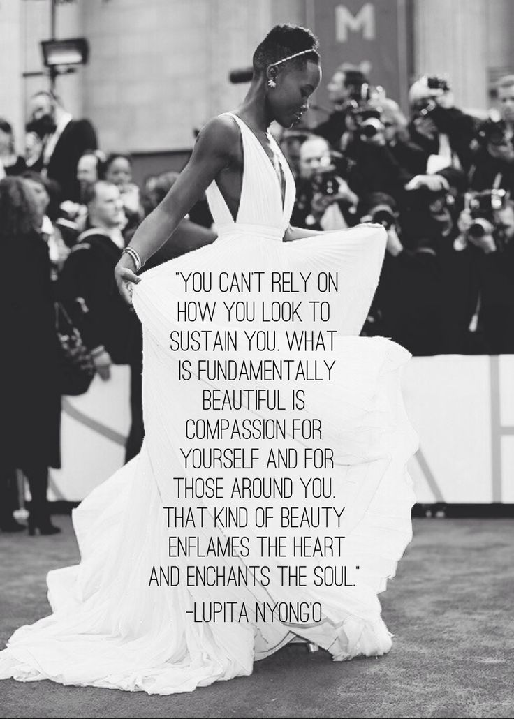 I LOVEEE Lupita.  She is such an amazing and wise woman.  She is so beautiful and I can't wait to see where she goes from here!