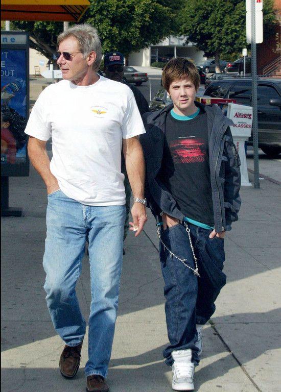 Harrison Ford et Malcolm Ford