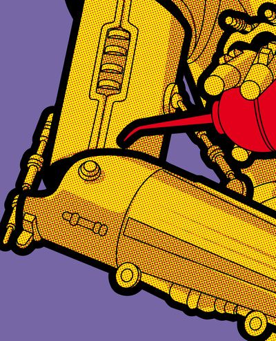 The secret life of heroes - cool oil by Greg-guillemin