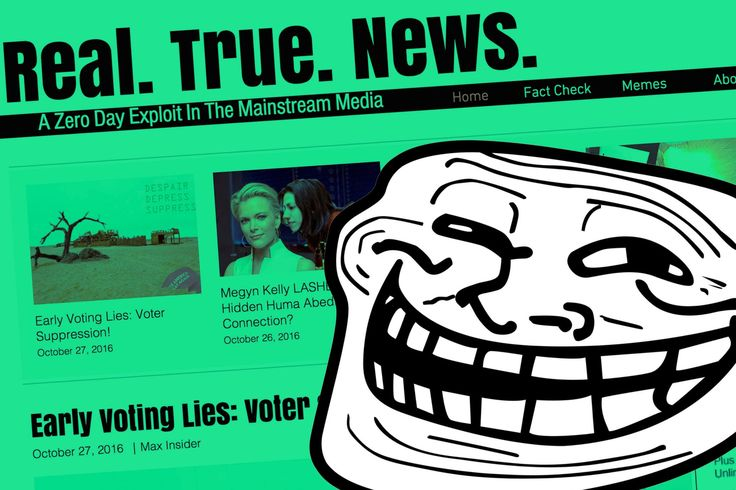 This Conservative News Site Trended on Facebook Showed Up on Fox Newsand Duped the World