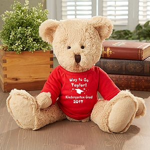 Make the graduation memories live forever with the Congrats! Grad Personalized Teddy Bear. Find the best personalized graduation gifts at PersonalizationMall.com