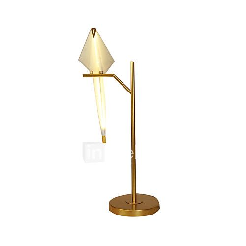 3W  Modern/Contemporary Desk Lamp  Feature for LED  with Gold Use On/Off Switch Switch - USD $171.99 ! HOT Product! A hot product at an incredible low price is now on sale! Come check it out along with other items like this. Get great discounts, earn Rewards and much more each time you shop with us!