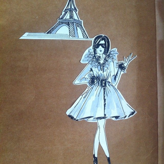 fashion illustration illustrazione fashion croquis