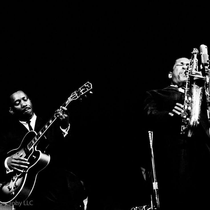 Wes Montgomerey & John Coltrane Monterey Jazz 1961