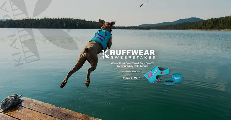Win our Ruffwear Float Coat + Bivy Bowl Package valued at over $100