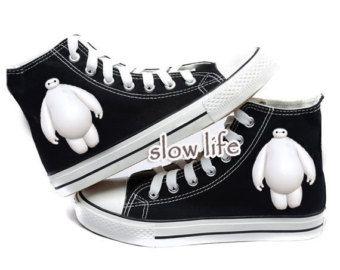 disney converse big hero 6 shoes | Big Hero 6 canvas shoes/hand-painted shoes/ canvas shoes/Custom canvas ...