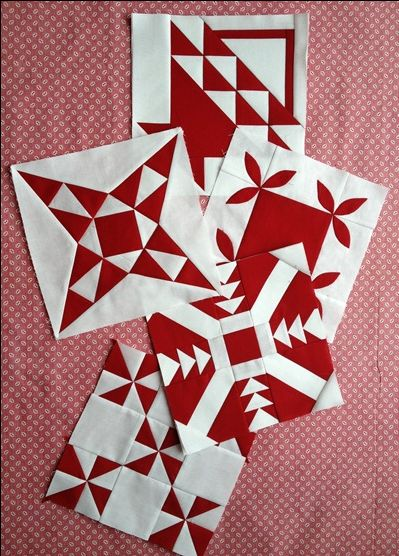 Just Takes 2 Quilt blocks