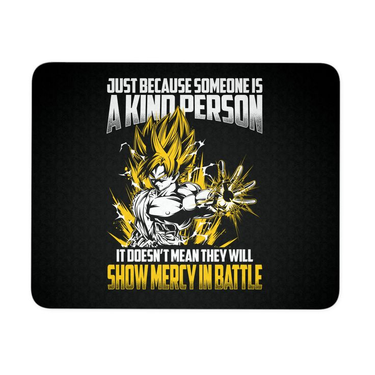 Super Saiyan Goku Show Mercy in Battle Mouse Pad - TL00440MP
