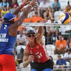 Rio 2016 Olympic Games - Men's Beach Volleyball pool D match - Latvia vs. Cuba
