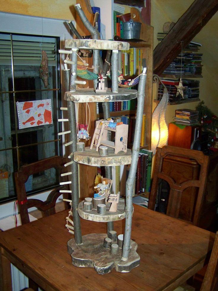 Ein Puppenbaumhaus