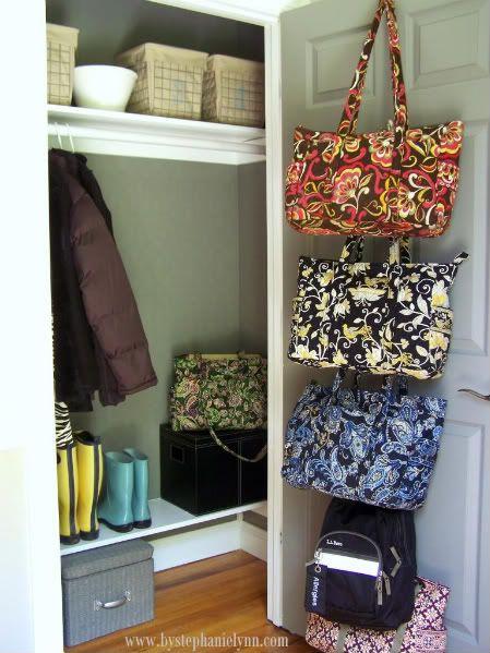 Living room closet: Hall Closet, The Doors, Closet Doors, Entry Closet, Closet Organizations, Closet Space, Closet Ideas, Organizations Closet, Coats Closet