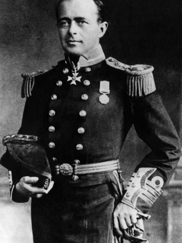 Royal Navy Officer and Antarctic Explorer Captain Robert Falcon Scott, 1912