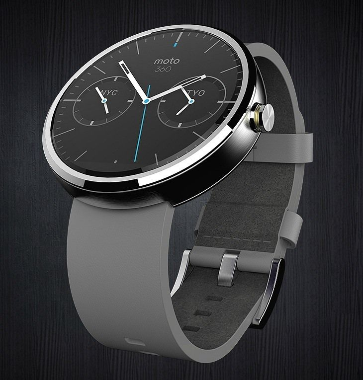 Motorola Moto 360 Watch Debuts Google 'Android Wear' OS: The Smartwatch For Everyone Is Here