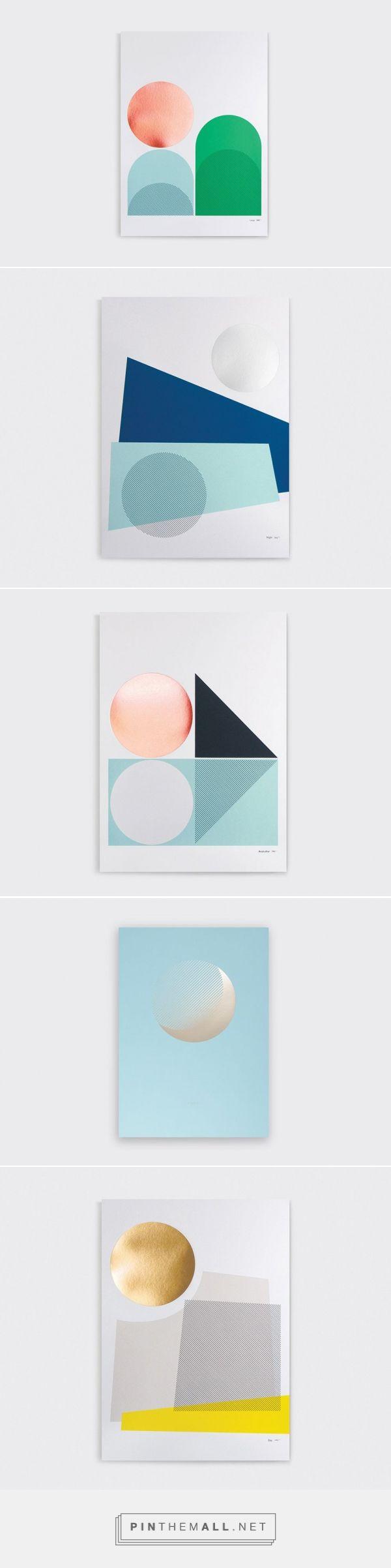 ささやかな日常からインスピレーションを得て制作された、Tom Pigeon のシンプルなグラフィック作品 – HITSPAPER - created via…