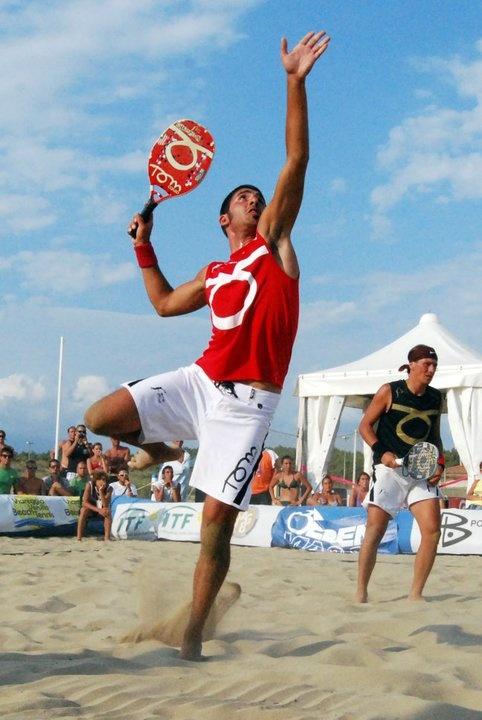 Beach tennis action! #Sockwa #BeachTennis