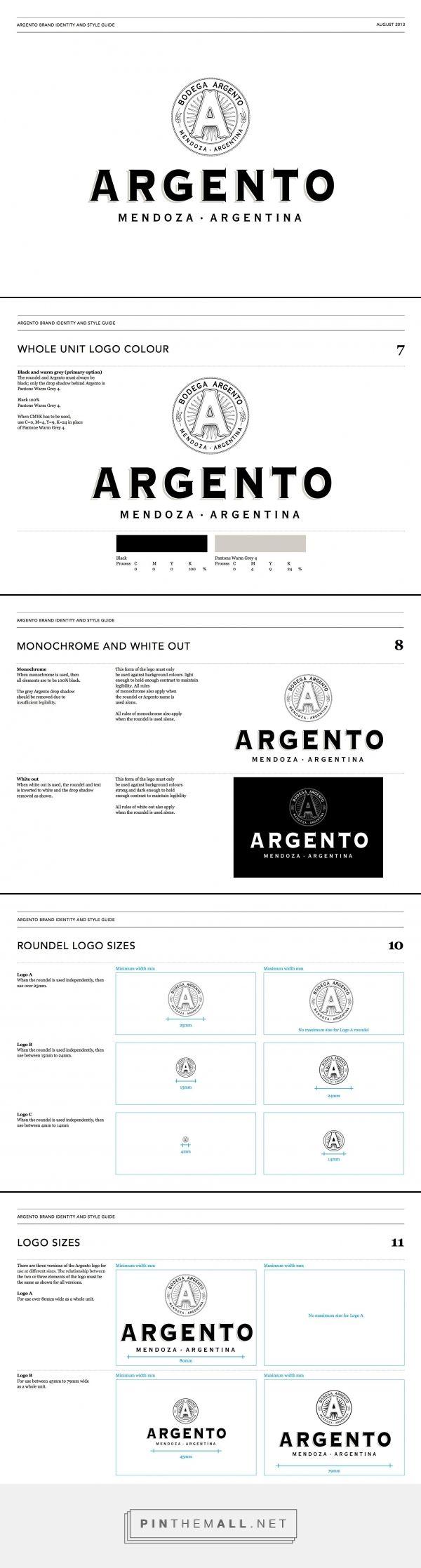 Argento Brand Logo Guidelines