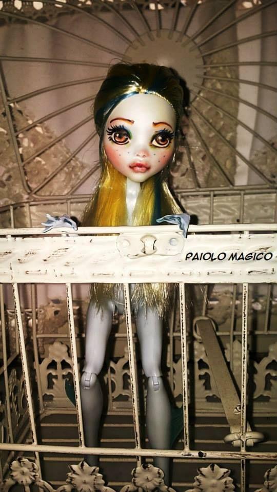 #doll #repaint #monster #high #custom