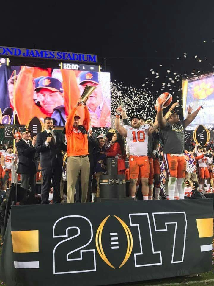Clemson wins national championship 2017