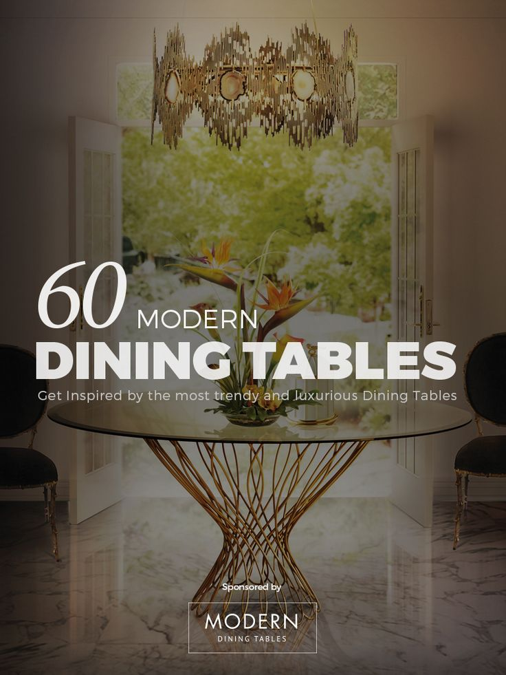 Free EBook 60 Modern Dining Tables
