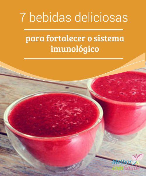 7 #bebidas deliciosas para #fortalecer o sistema imunológico Ter um #sistema #imunológico forte nos protege das #doenças e faz com que, dia a dia, nos sintamos mais saudáveis.