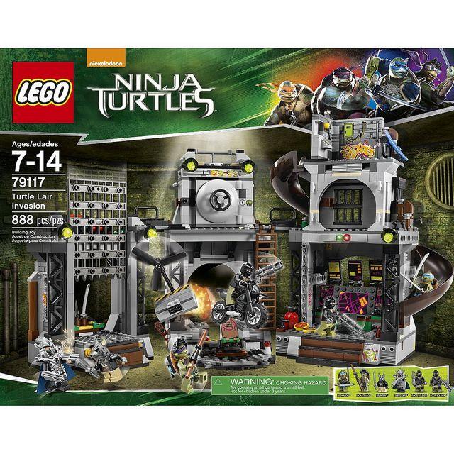 LEGO Teenage Mutant Ninja Turtles: Turtle Lair Invasion