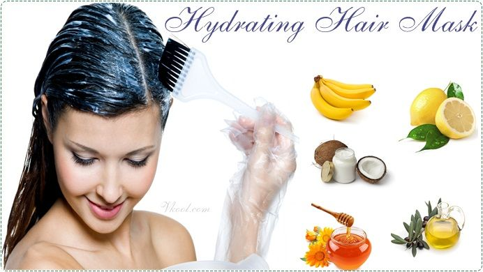 Natural Homemade Hydrating Hair Mask Recipes for Hair Types is a new article that shows 7 recipes very useful for you.