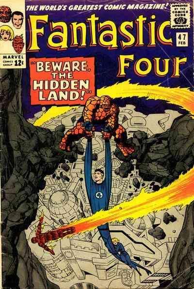 Fantastic Four # 47 by Jack Kirby & Joe Sinnott