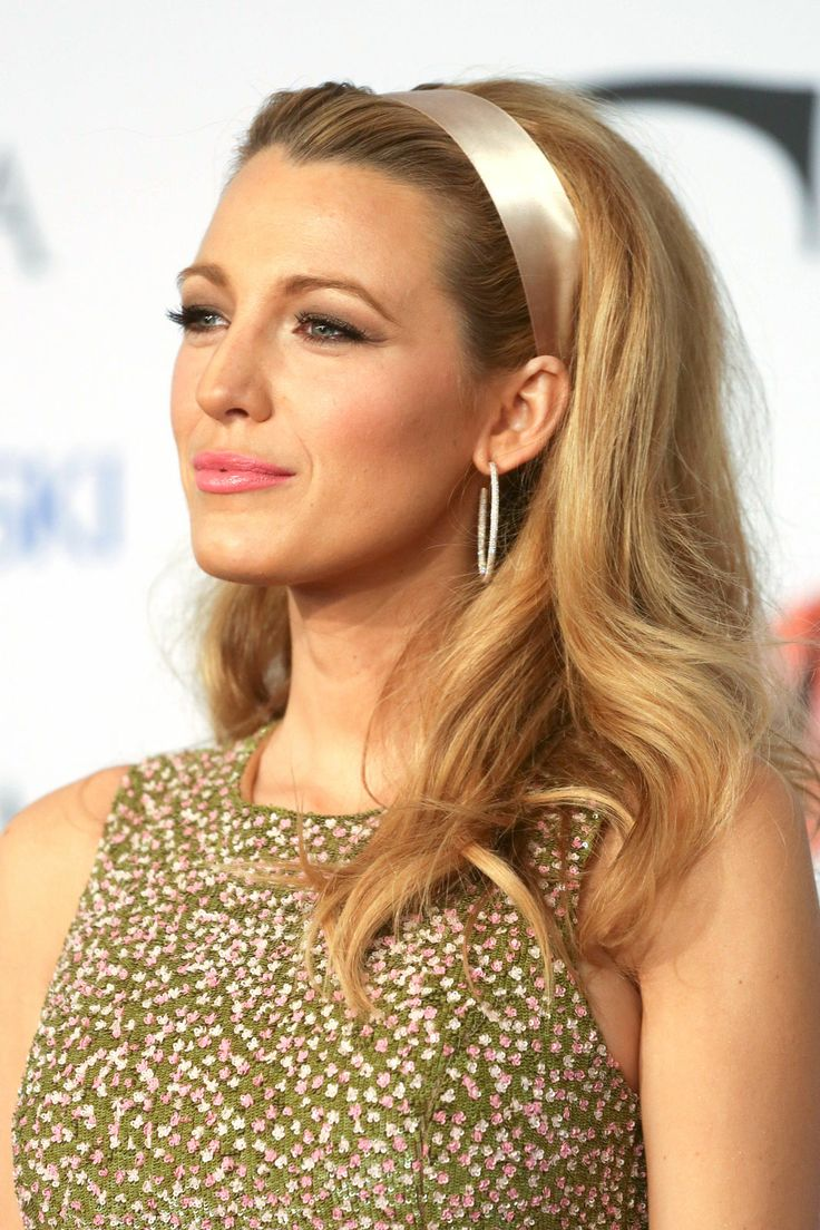 The 8 Most Eye-Popping Beauty Looks From The CFDA Awards #refinery29  http://www.refinery29.com/2014/06/68960/cfda-awards-beauty#slide2  Ladylike as always, Blake Lively went full mod with her hair and makeup. Big, Bardot-esque curls and a subtle cat-eye brought her theme home.
