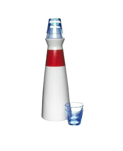 Schnapps Set! Lighthouse Style, adorable!