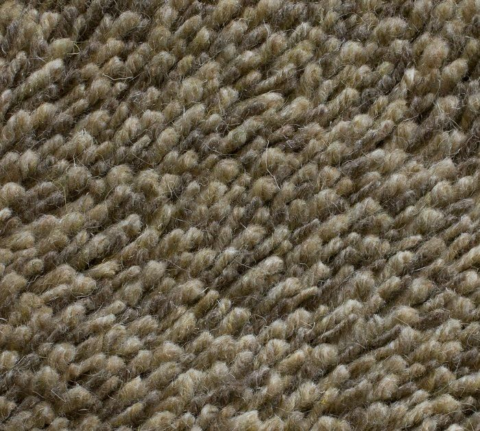 These textured rugs offer a soft blend of 70% wool and 30% acrylic.