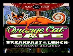 The Orange Cat Cafe in Kingfield is a casual place for families and friends to gather for wholesome homemade food.