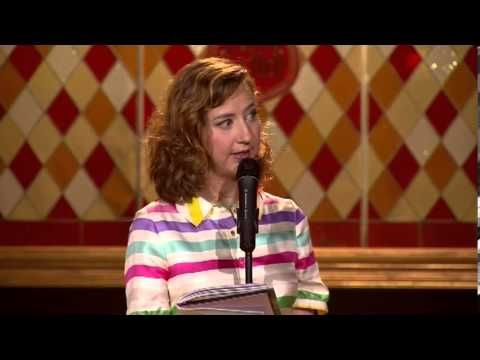 """Kristen Schaal Stand Up on Funny as Hell - omg, she is so funny. """"I shoulda wished for hindsight."""""""