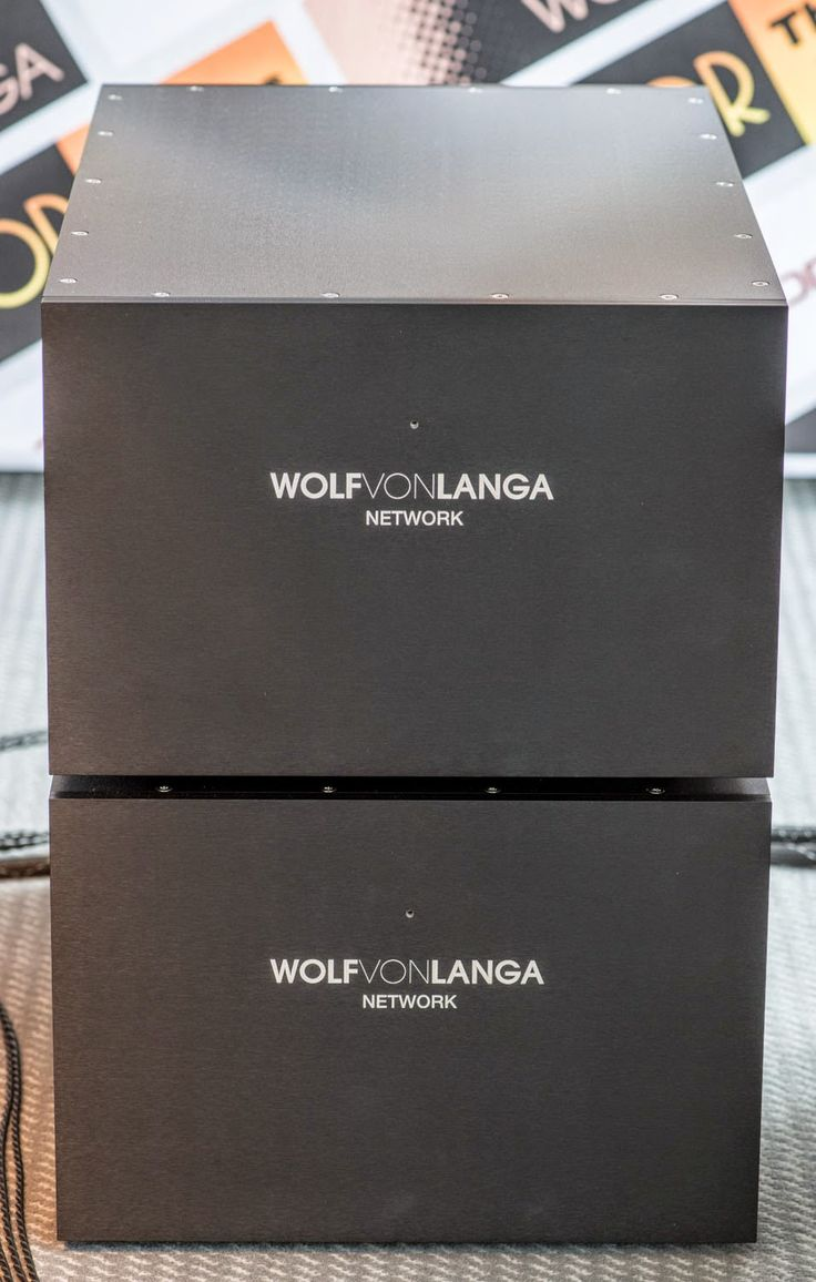Hi!   The speakers of out demo system at the high End are the Swing made by Wolf von Langa .         The Swing is Wolf's ultimate field coil...