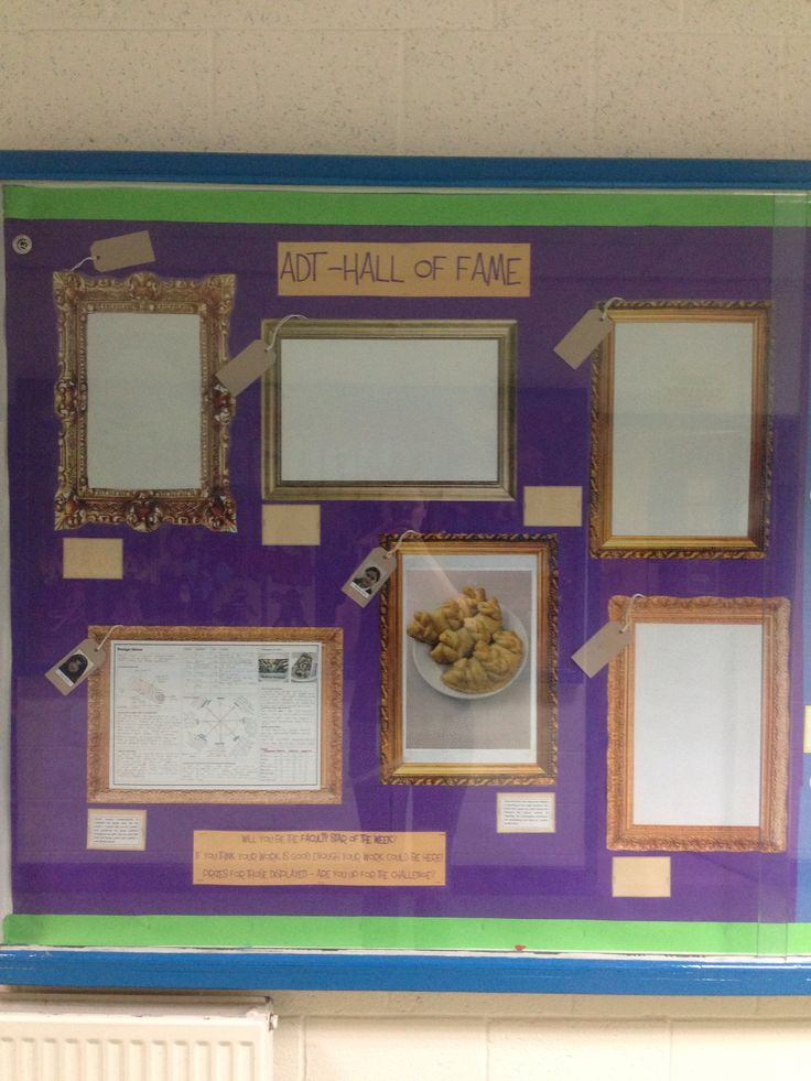 Wall of fame | Classroom Display Competition | Pinterest ...