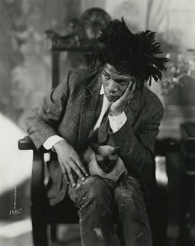 Jean Michel Basquiat (1982) - James Van Der Zee
