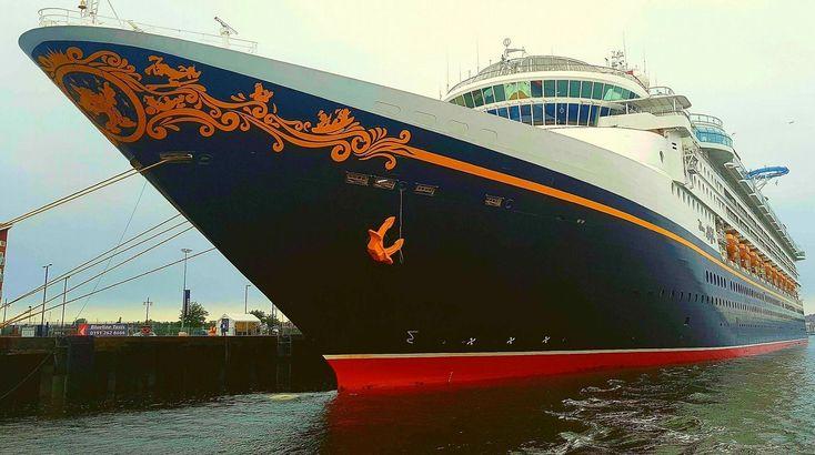The Disney Magic cruise ship moored at Royal Quays in North Shields | Disney | Disney Cruise Ship | Disney Magic | North Shields | Cruise Ship | North East