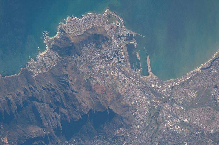 Ciudad del Cabo, Sudáfrica, desde la Estación Espacial Internacional – El Universo Hoy