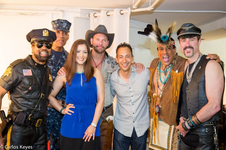 #CarlosKeyes and #NanaGouvea backstage at Algonquin Arts Theatre with #VillagePeople
