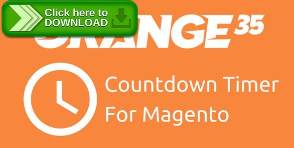 [ThemeForest]Free nulled download Magento Countdown Timer from Orange35 from http://zippyfile.download/f.php?id=48164 Tags: ecommerce, countdown, countdown timer, magento, magento countdown, magento extensions, magento promo, magento timer, promotions, timer