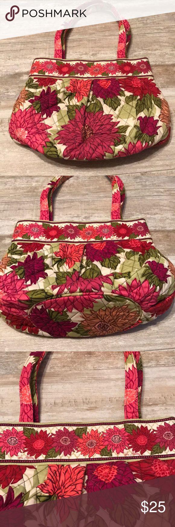 Vera Bradley Handbag Vera Bradley handbag Depth:11 inches 2 front outer pockets 2 straps  Inner pockets Vera Bradley Bags