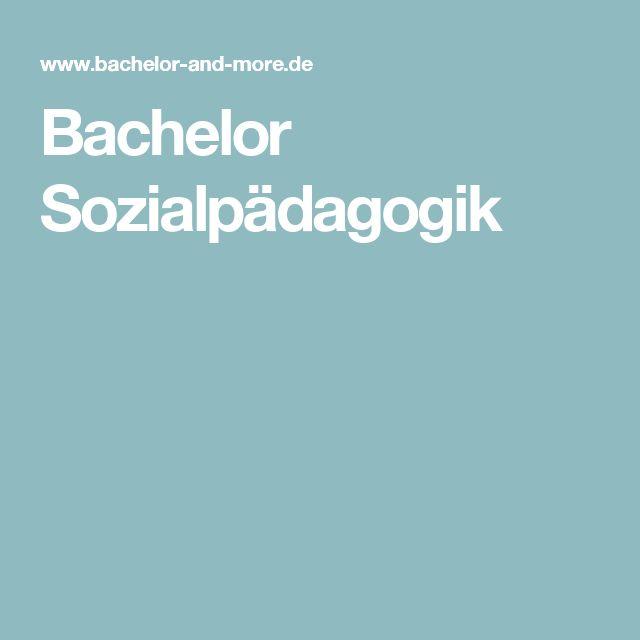 Bachelor Sozialpädagogik