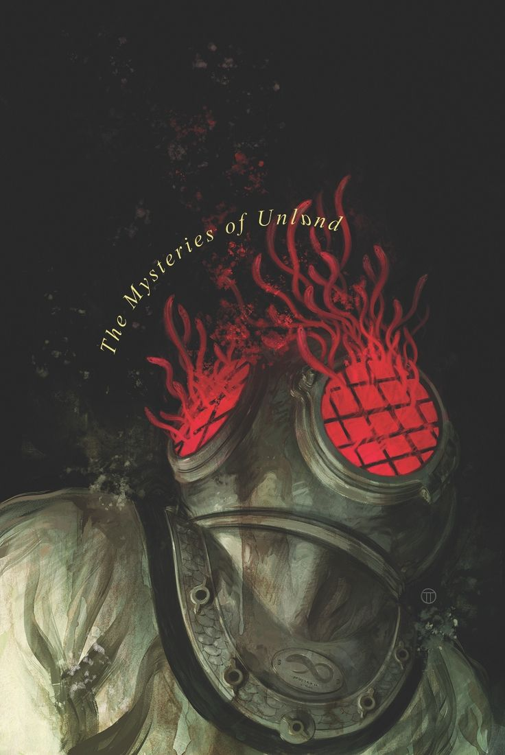 Witchfinder: The Mysteries of Unland #2 (of 5)  Kim Newman(W), Maura McHugh(W), Tyler Crook(A), Dave Stewart(C), and Julián Totino Tedesco(Cover)  On sale July 16 FC, 32 pages $3.50 Miniseries  After a dangerous clash with giant eel monsters, Sir Edward Grey determines that all signs of the secrets of Hallam point to Poole's Elixir factory.