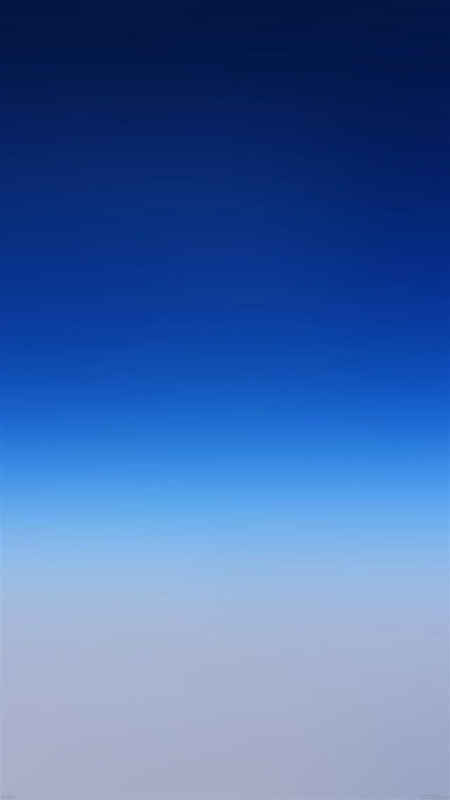 Wallpaper Iphone Abstract Pure Simple Blue Gradient Color
