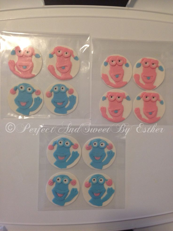 WotWots cupcake toppers