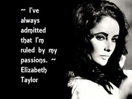 Elizabeth Taylor - A legend regardless of her imperfections.
